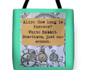 How Long is Forever? Tote Bag *Choose your size and color*