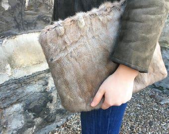 Vintage Fur Clutchbag