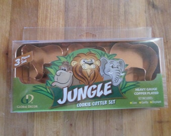 Jungle Cookie Cutter Set