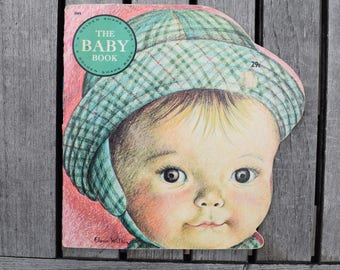 Vintage 1970 The Baby Book by Eloise Wilkin Golden Press Golden Shape Book Paperback Children's Book