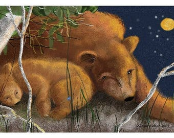 Mother and Cub ~ 19 x 13