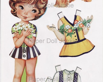 Digital Paper Dolls Set