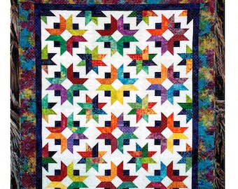 """DAYBREAK    Quilt Pattern For 2-1/2"""" Strips - By: Cozy Quilt Designs"""