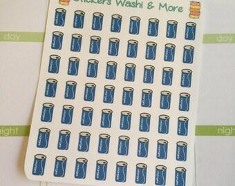 Soda Pop Stickers for your Erin Condren Life Planner-Filofax-Gillio