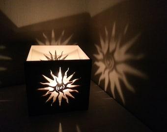 Spiral Sun lantern