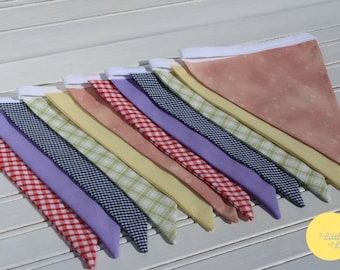 3m Rainbow Double Sided Bunting