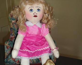 Handmade Rag Doll (MITZI)
