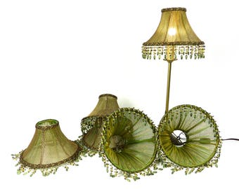 Vintage lighting lamps lampshades handmade in nyc by judislamps greentooth Image collections