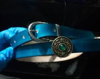 Medieval blue belt