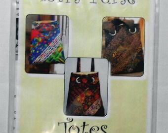 Pattern- Tori's Purse -Totes by Sandy #2269