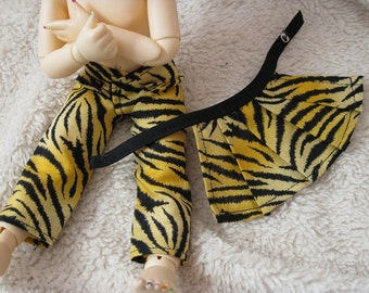 LTF/YOSD Tiger Striped 1/2 Skirt Set CLEARANCE 1/2 Off