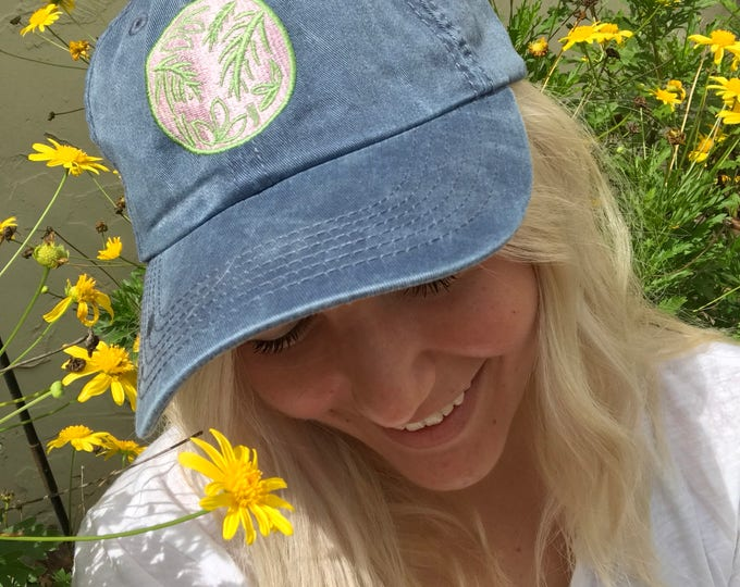 Plant Lover Patch Baseball Cap