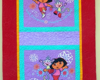 Girl Quilt for Sale, YOUNG GIRLS QUILT, Best Friends, Buenos Amigos, Hand made in America