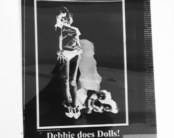 Debbie Harry Vellum