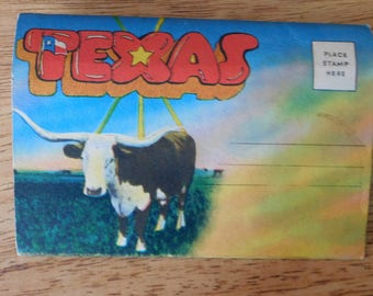 Fun Texas Vintage Post Card Collection in Good Condition