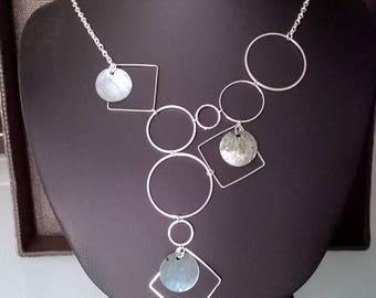 Necklace set of shapes