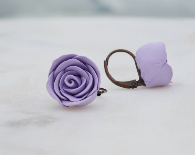 Beautiful delicate handmade floral earrings for your loved one