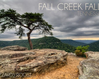Fall Creek Falls State Park, Tennessee - Buzzards Roost (Art Prints available in multiple sizes)