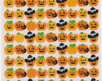 Halloween Stickers - Pumpkin Stickers - Reference A5030-31