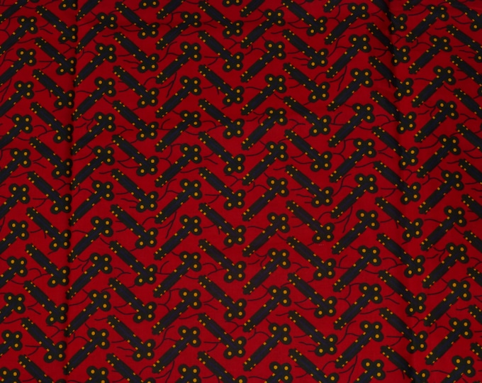 African Fabrics Super Wax Prints African Fabric For Dressmakings/Fabric for Sewing Dresses, Skirts,Sold By Yard 161269774851