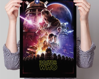 Doctor Who Poster - 'Star Wars'