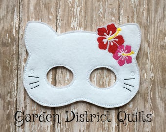 Inspired Hello Kitty Face Mask Great for Birthday Parties, dress up, Cosplay, party favors or Halloween Costumes