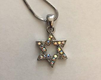 Sparkle Star Pendant Necklace Chain