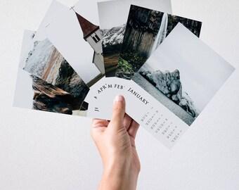2018 Calendar, Iceland, Travel Calendar, Office Decor, Wall Calendar, 2018 Calendar, Office Calendar, Iceland Travel Photography
