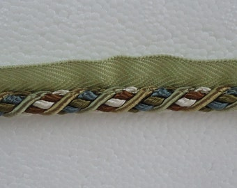 Olive Green Rope Trim