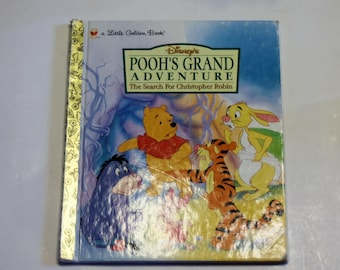 A Little Golden Book: Disney's Pooh's Grand Adventure (1998)