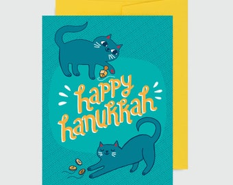 Holiday Card - Hanukkah Cats