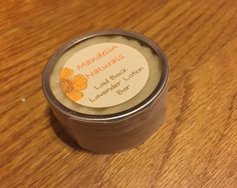 Laid Back Lavender Lotion Bar