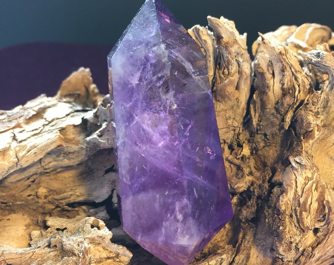 Crystal - Ameterine - Double Terminated