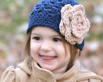 baby hat, girls winter hat, baby girl crochet kids hat, crochet kids hat, newborn girl hat,  blue hat,, girls winter hat, winter hat