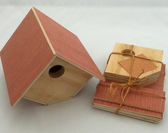 9 Wren Birdhouse Kit. Perfect for Scouts, or Childs project.