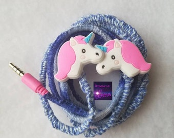 Embroidered Novelty Earbuds