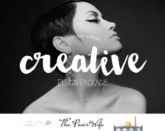 creative logo design custom logo design boutique logo branding design business logo wordpress website logo blog logo etsy shop logo branding