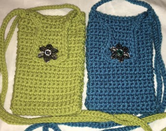 Cross body cell phone bag