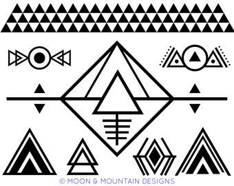 Southwest Desert Designs Set 1 - SVG • PNG • EPS Cut Files