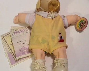 Vintage 1987 Cabbage Patch Kids Preemies Doll Coleco