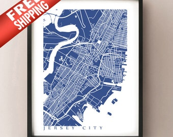 Jersey City Map