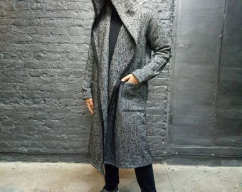 Man coat/Man long coat/Cardigan/Man Wool Coat/Coat Wool/Man