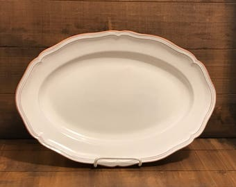 "Loneoak Queen Anne 14"" Serving Platter"