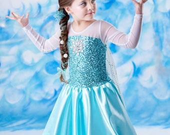 Frozen costume Elsa inspired costume 7
