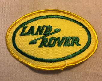 VINTAGE LANDROVER Nos Patch GREAT Item L@@K Exc Condition