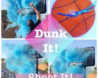 "Basketball 6.25"" Gender Reveal Basketball Gender Reveal Ideas Gender Reveal Basketball"