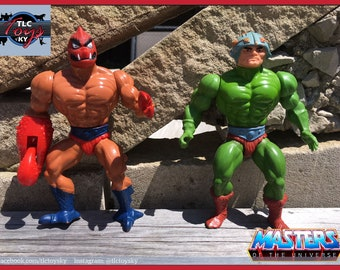 Vintage Masters of the Universe - Clawful & Man-At-Arms