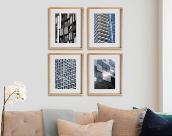Architectural 4V Print Collection.  Architecture photography, print, photography, urban, decor, wall art, artwork, large format photo.