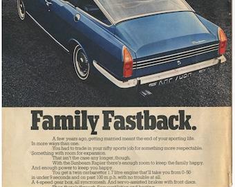 1970 Sunbeam Rapier Ad (70-ST-03)
