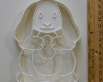 Vintage HALLMARK EASTER BUNNY Cookie Cutter | 1980s 4 7/8""